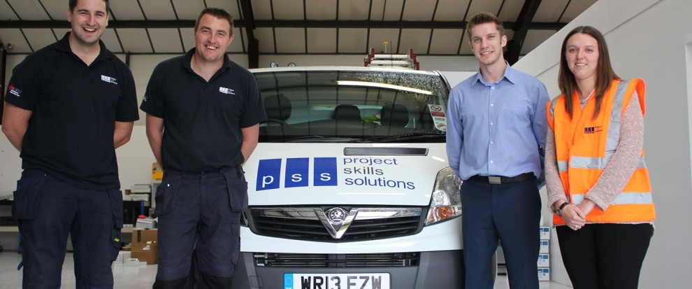 Electrical Maintenance Services in London and Essex - 4 members of Project Skills Solutions Electrical Maintenance Team