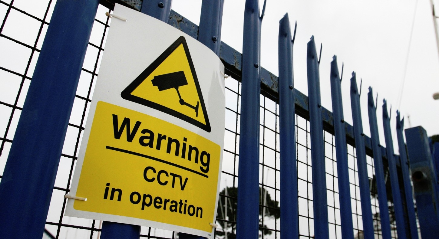 Warning CCTV sign, security surveillance on public site - security surveillance from Project Skills Solutions