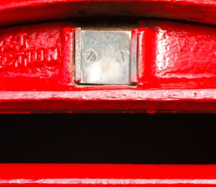 Red British post box - Project Skills Solutions post office nationwide