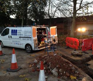 fibre optic cable installation, Essex, London,UK