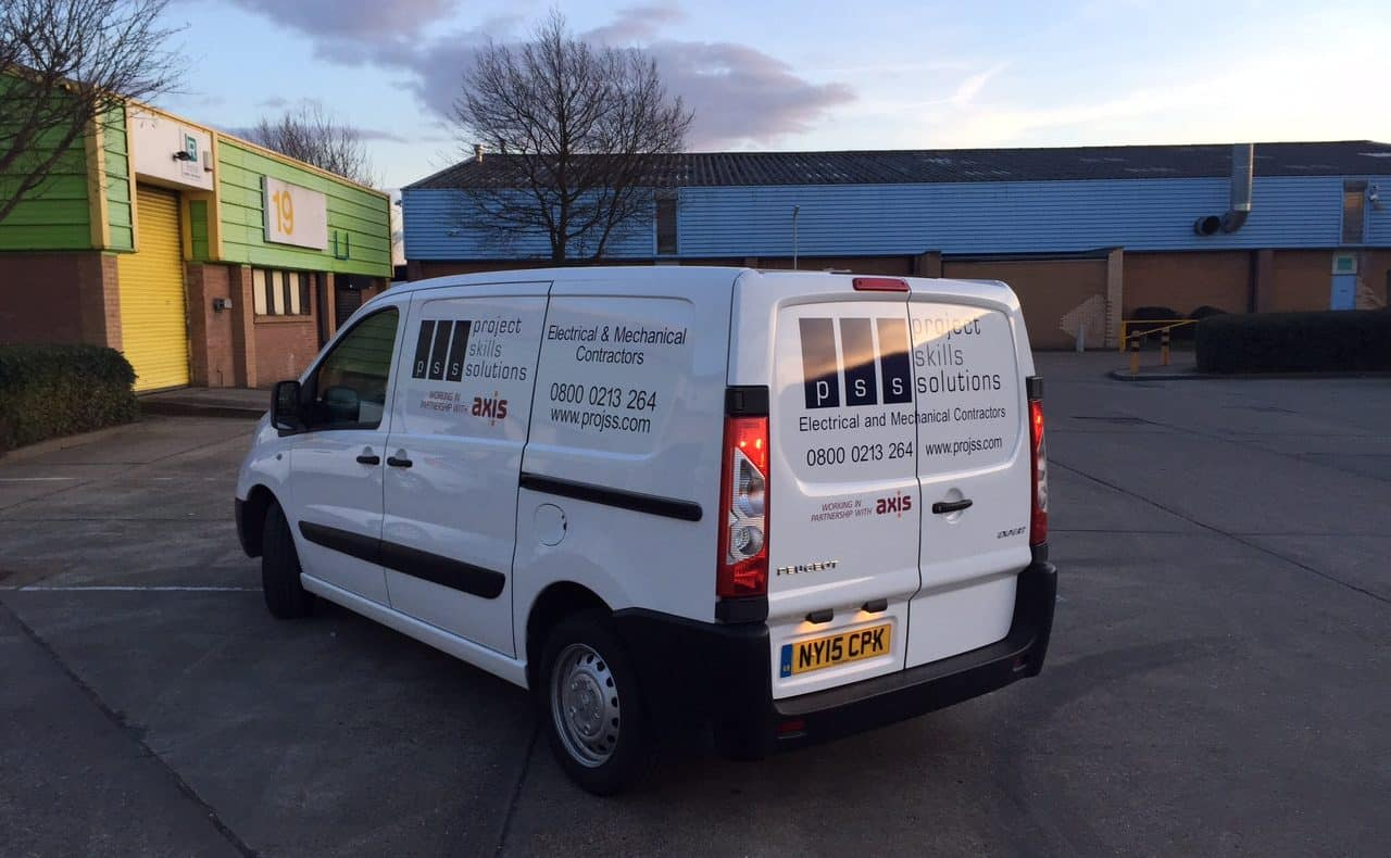 PSS Van - Electrical services for social housing associations
