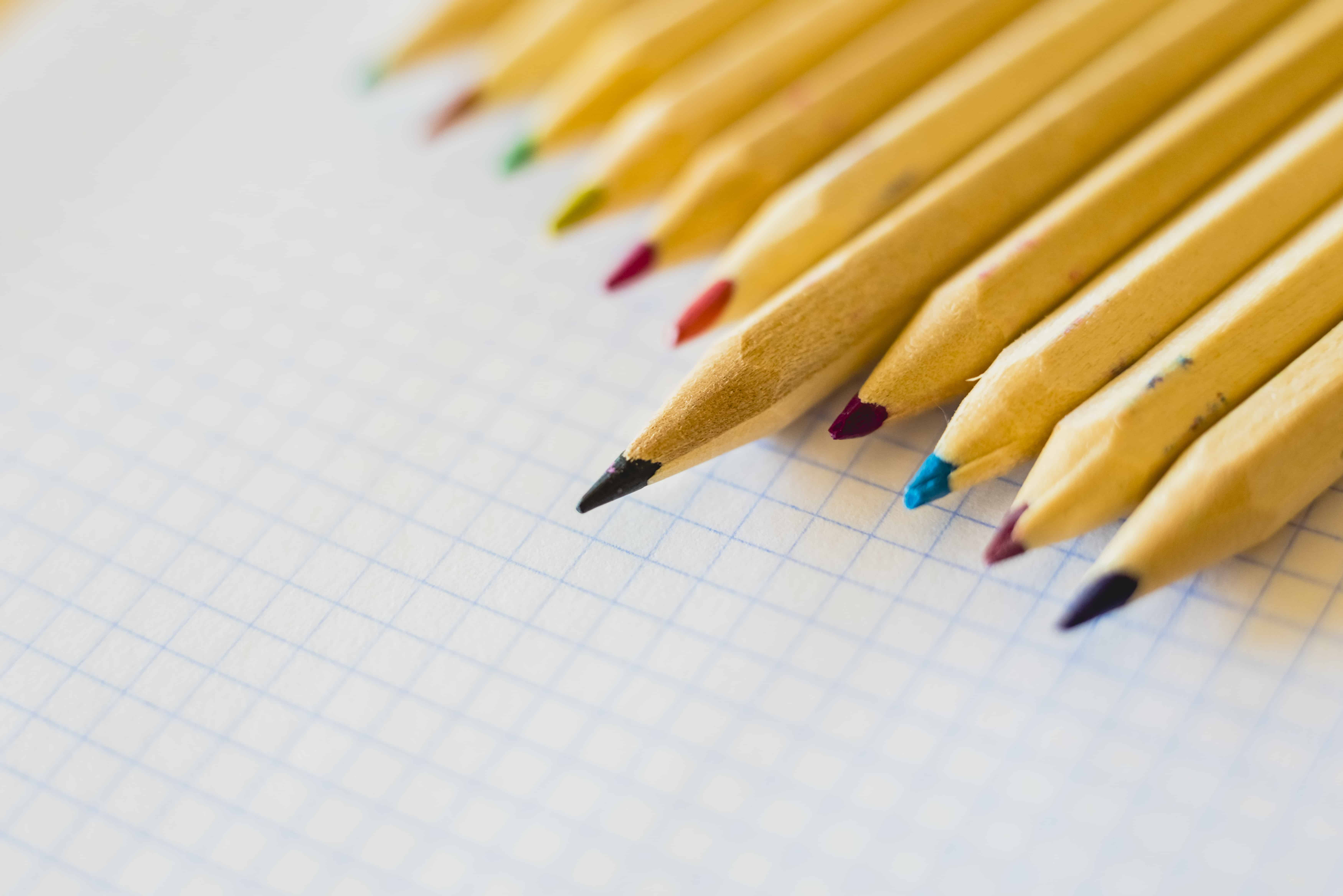 EICR testing, picture of pencils, EICR tests in commercial property