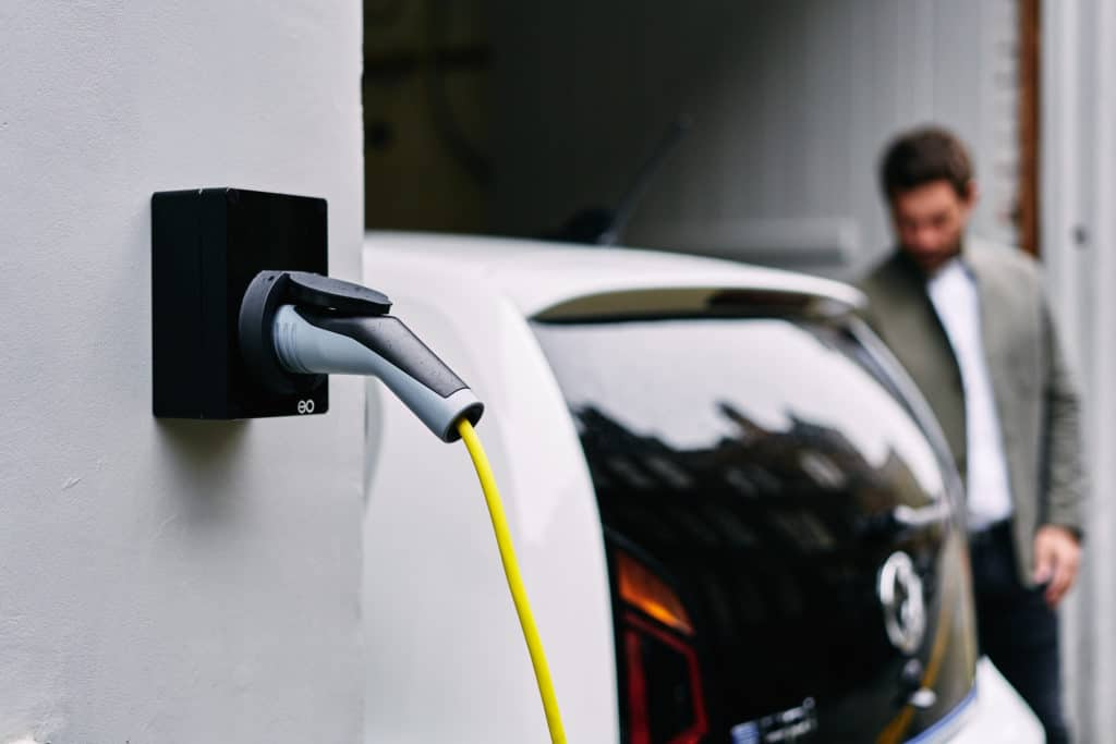 Home EV charge point installation