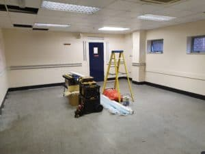 Office Electrical fit out London