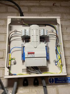 EICR Fault Missing DB Board Cover